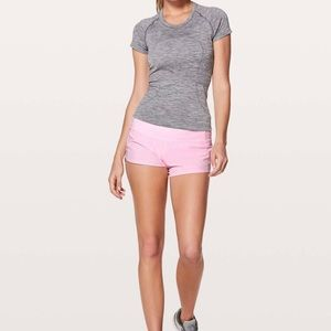 "Lululemon Speed Up 2.5"" Pearl Pink Short"